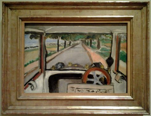 Henri Matisse, 'The Windshield, On the Road to Villacoublay,' 1917. Cleveland Museum of Art