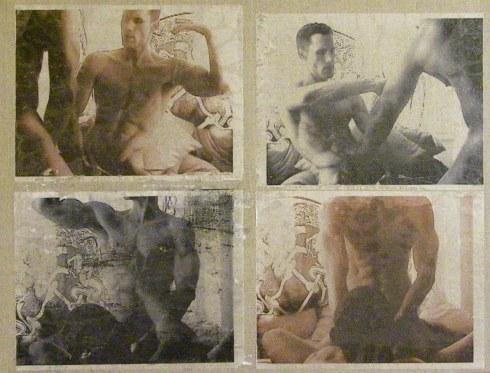 Devon Britt-Darby, Circa 2003, 2010. Iron-on inkjet transfer and acrylic on canvas.