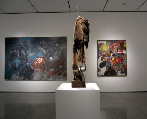 "Installation view, ""The Abstract Impulse"" at the Museum of Fine Arts, Houston"