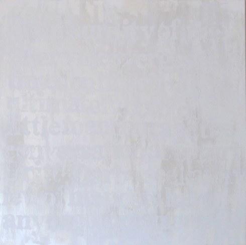Devon Britt-Darby, Paddy Johnson, 2013 (View No. 1). Acrylic, glass microspheres and enamel on canvas.