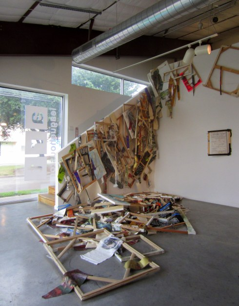 Devon Britt-Darby, 'New Bedford (Vanload of Art),' 2013 Destroyed paintings (all surviving, unsold works 2000-2009; selected works 2010-2013)