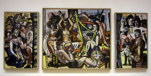 Max Beckmann, Blind Man's Buff, 1945. Oil on canvas. Minneapolis Institute of Arts