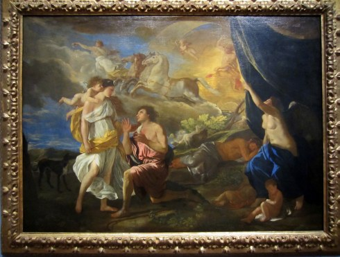 Nicolas Poussin, Selene and Endymion, c. 1630. Detroit Institute of Arts
