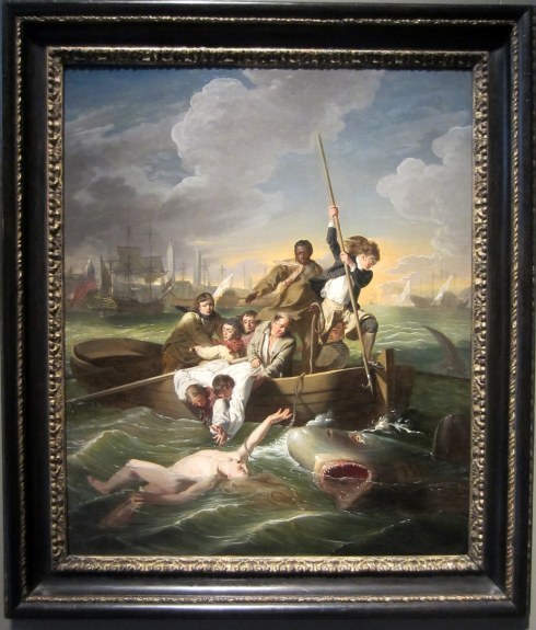 John Singleton Copley, Watson and the Shark, 1777. Detroit Institute of Arts