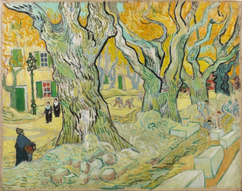 Vincent van Gogh, The Road Menders, 1899. The Phillips Collection, Washington, D.C.